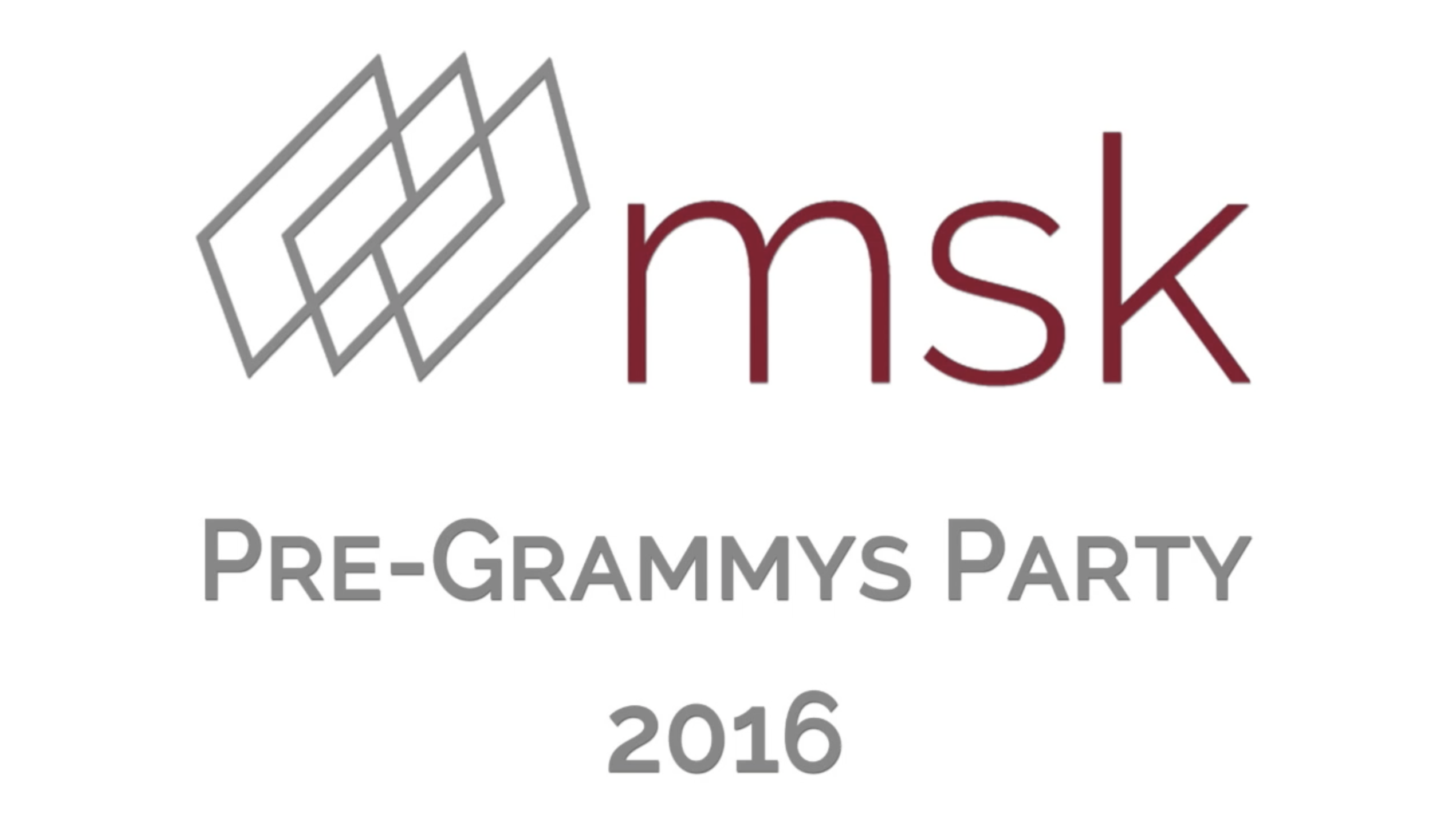 2016 MSK Pre-Grammys Party Highlights Reel