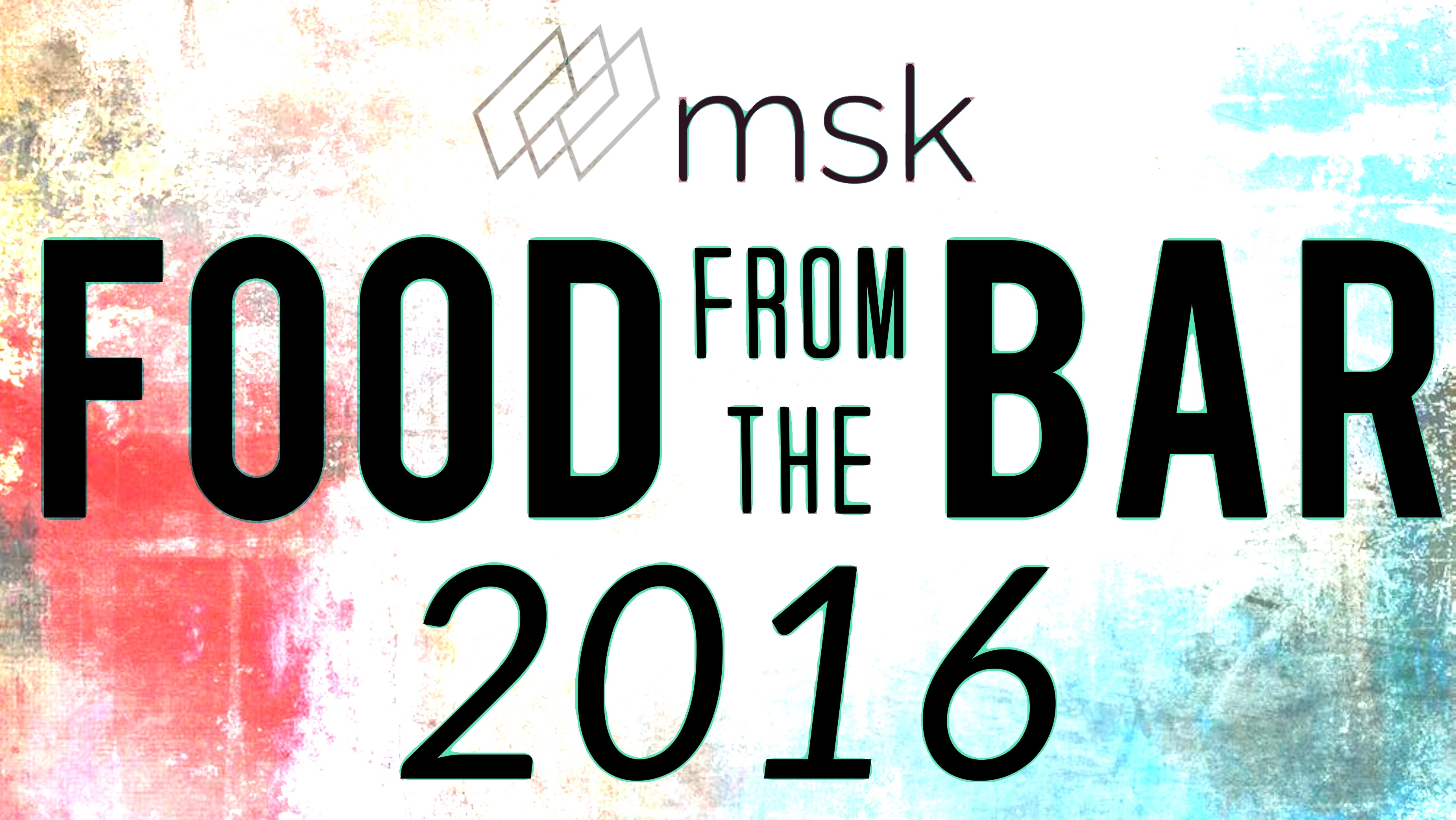 Food From The Bar 2016