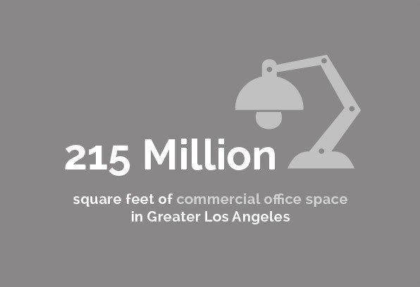 Real Estate - 215 Million square feet of commercial office space in Greater Los Angeles
